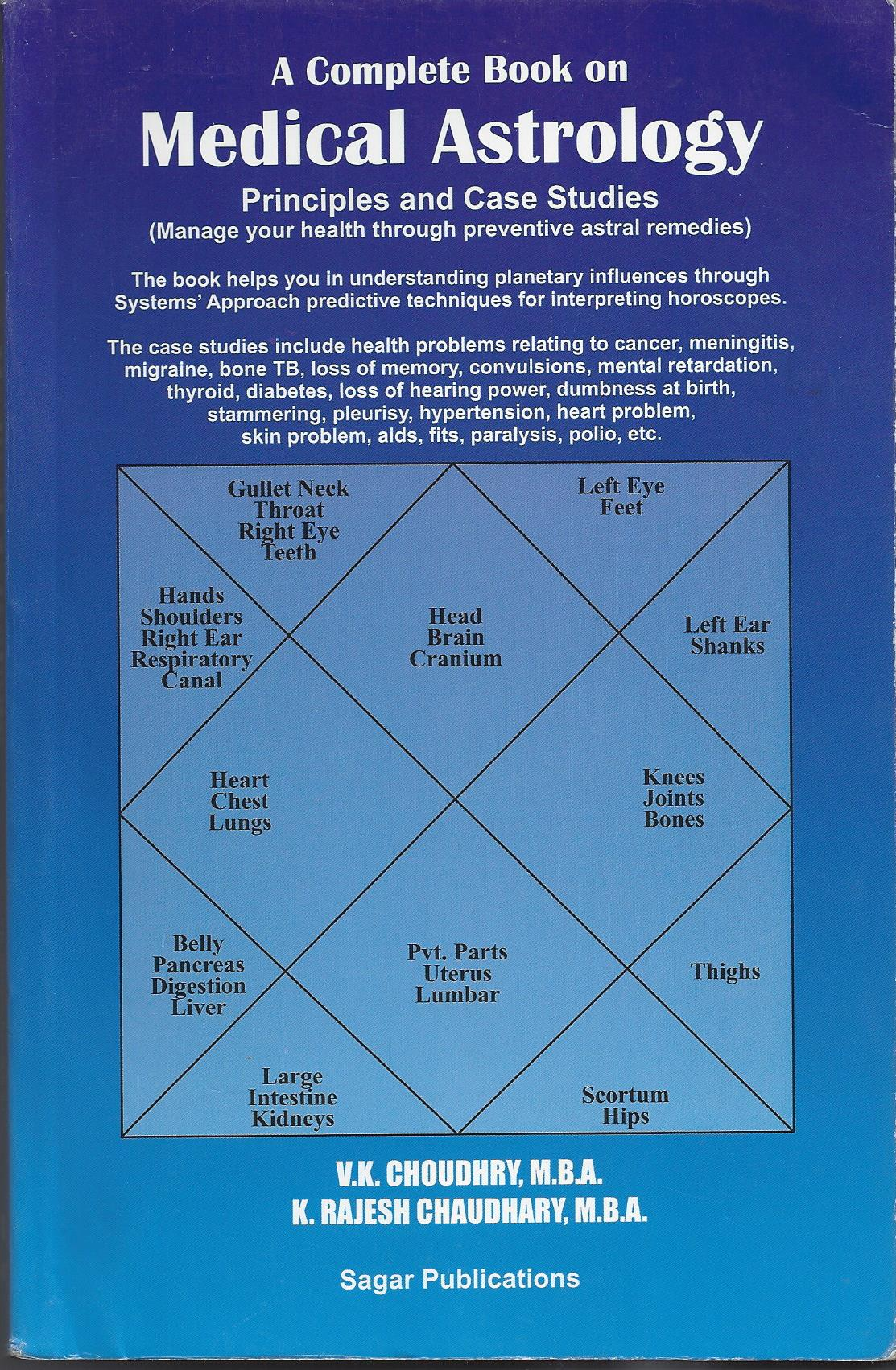 Medical Astrology (Manage your health through preventive astral remedies)