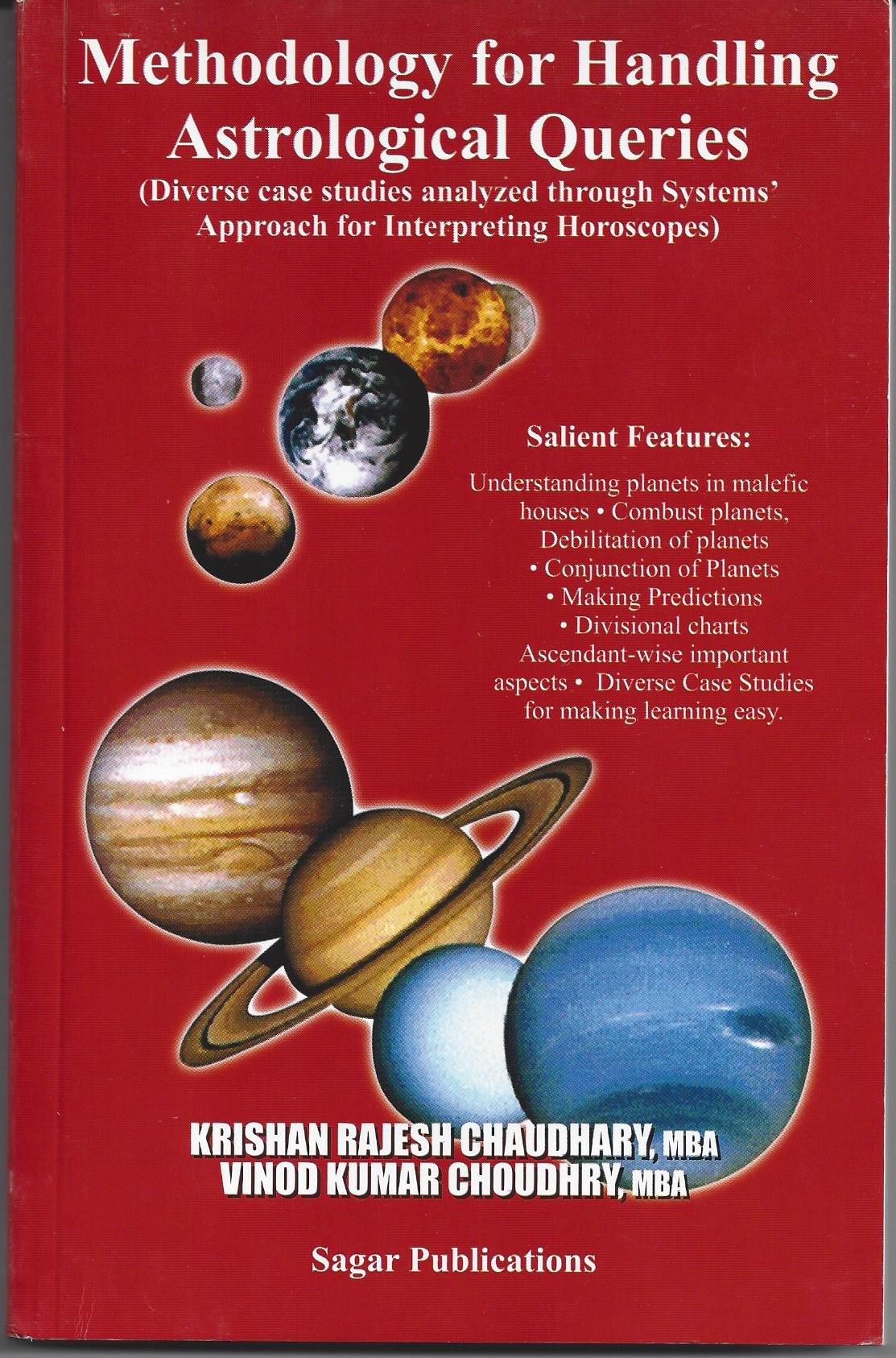 Methodology for Handling Astrological Queries (Systems' Approach for  Interpreting Horoscopes)